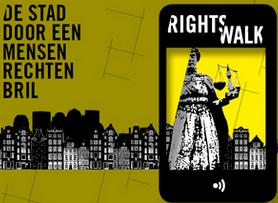 Rights walk Delft